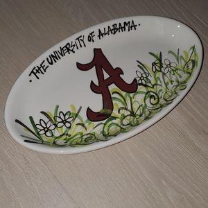 University of Alabama platter